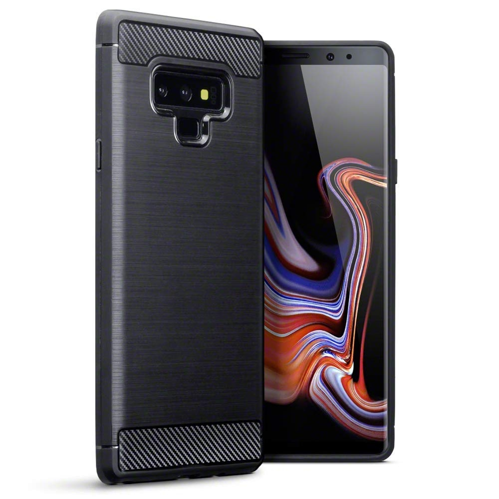 Terrapin Θήκη Σιλικόνης Carbon Fibre Design Samsung Galaxy Note 9 - Black (118-002-718)