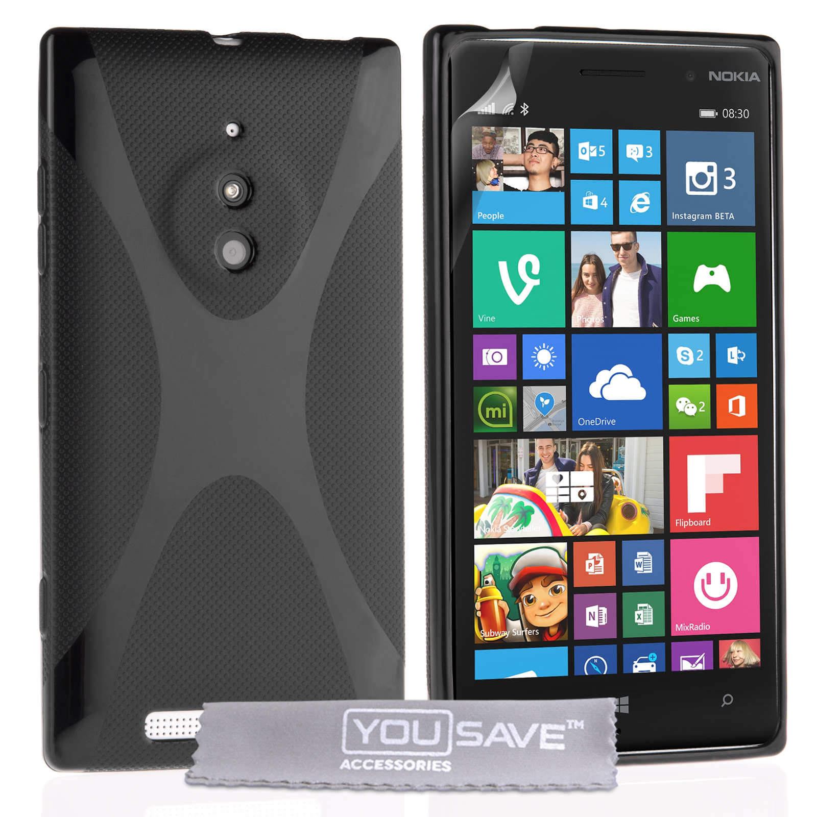Θήκη Nokia Lumia 830 by YouSave (Z809)