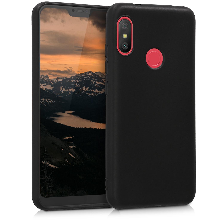 KW Θήκη Σιλικόνης Xiaomi Mi A2 Lite / Redmi 6 Pro - Black Matte (45617.47)