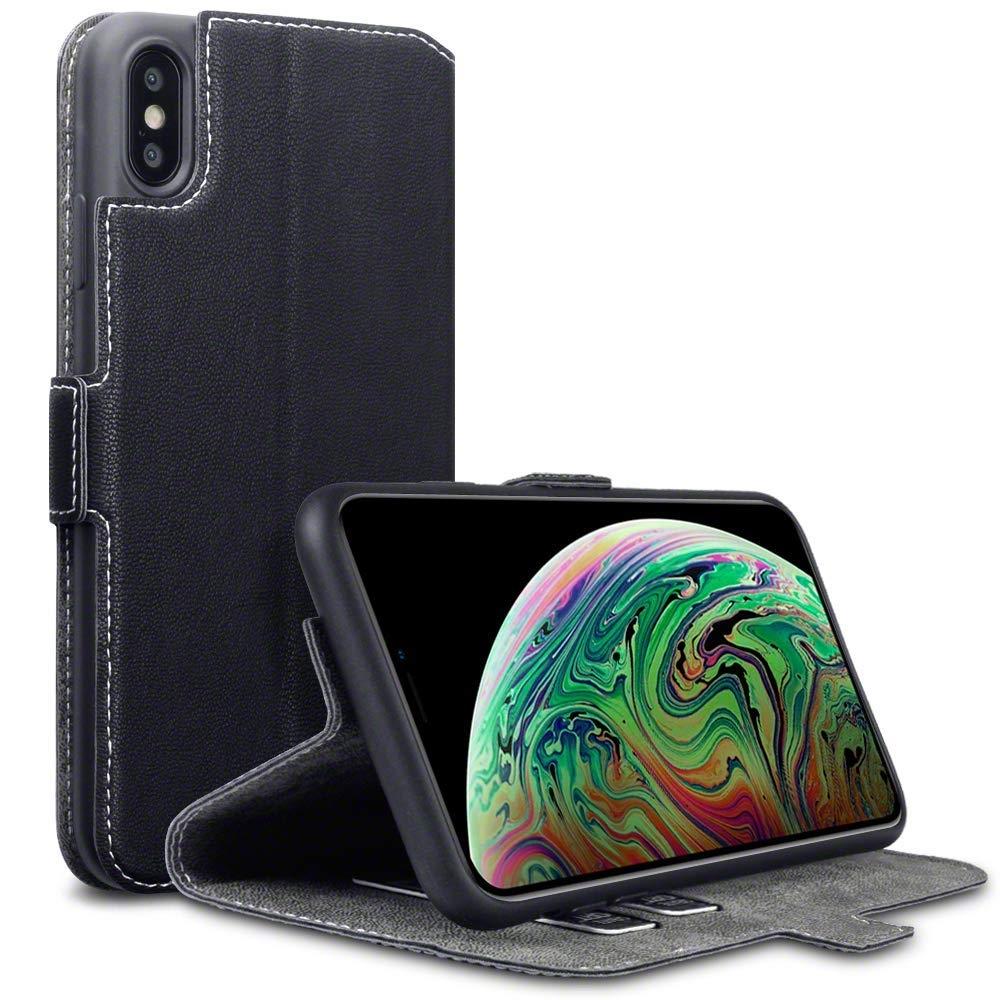 Terrapin Θήκη Low Profile Thin - Πορτοφόλι iPhone XS Max - Black (117-126-002)
