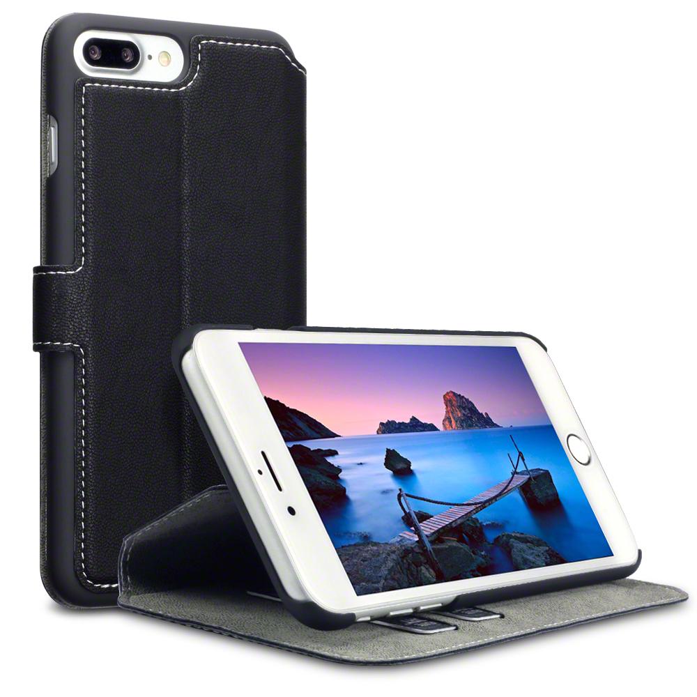Terrapin Θήκη iPhone 8 Plus / iPhone 7 Plus - Πορτοφόλι (117-123-011) - Black