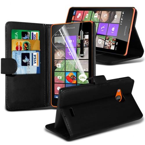 Θήκη Microsoft Lumia 540 - Πορτοφόλι (001-001-540) - OEM
