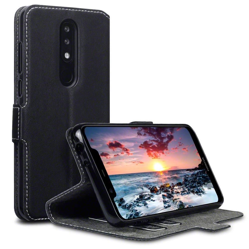 Terrapin Θήκη - Πορτοφόλι Nokia 5.1 Plus - Black (117-001-312)