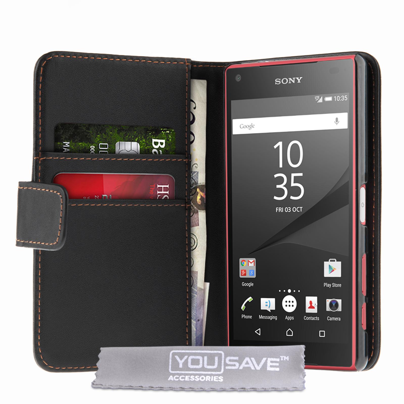 Θήκη Sony Xperia Z5 Compact - Πορτοφόλι by YouSave (Z548)