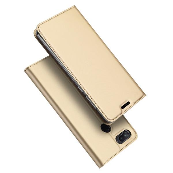 Duxducis Θήκη - Πορτοφόλι Xiaomi Mi 8 Lite - Gold (14694)