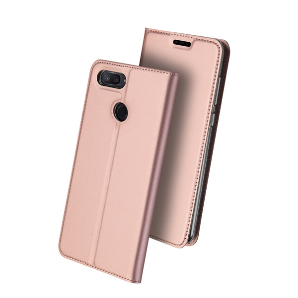 Duxducis Θήκη - Πορτοφόλι Xiaomi Mi 8 Lite - Rose Gold (14692)