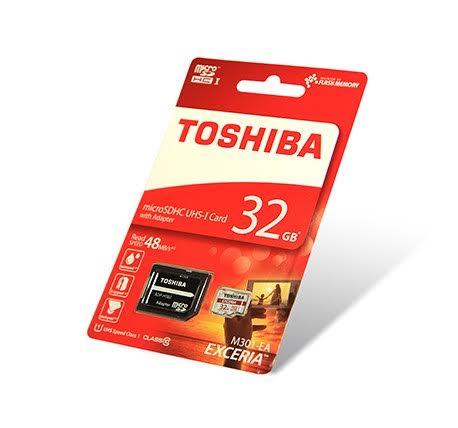 Κάρτα Μνήμης microSD 32GB Toshiba SD-C032UHS1(BL5A) Class 10