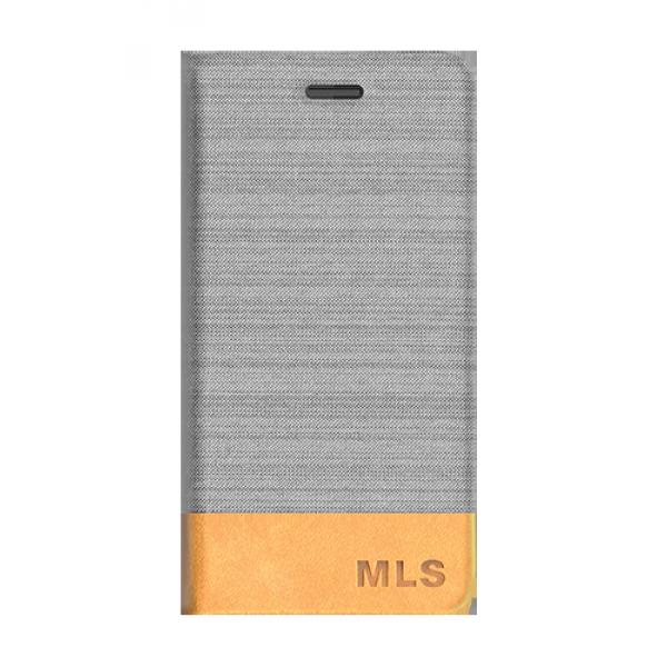 Θήκη Flip MLS Fashion 8C 4G - Silver/Brown (32.ML.500.034)