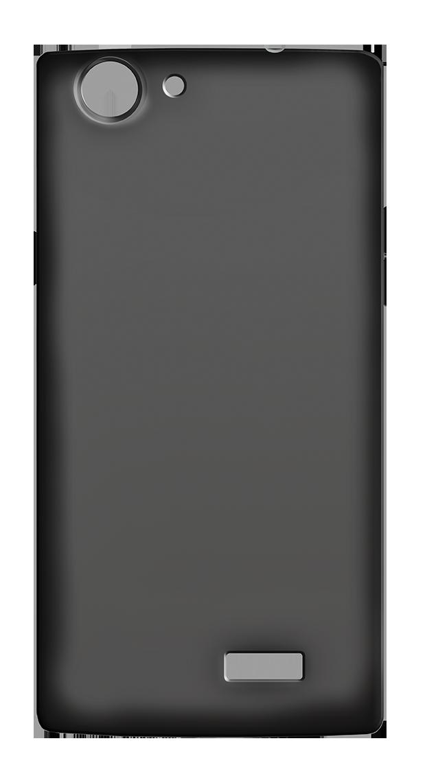 Θήκη Σιλικόνης MLS iQtalk Flame - Black (11.CC.520.102)