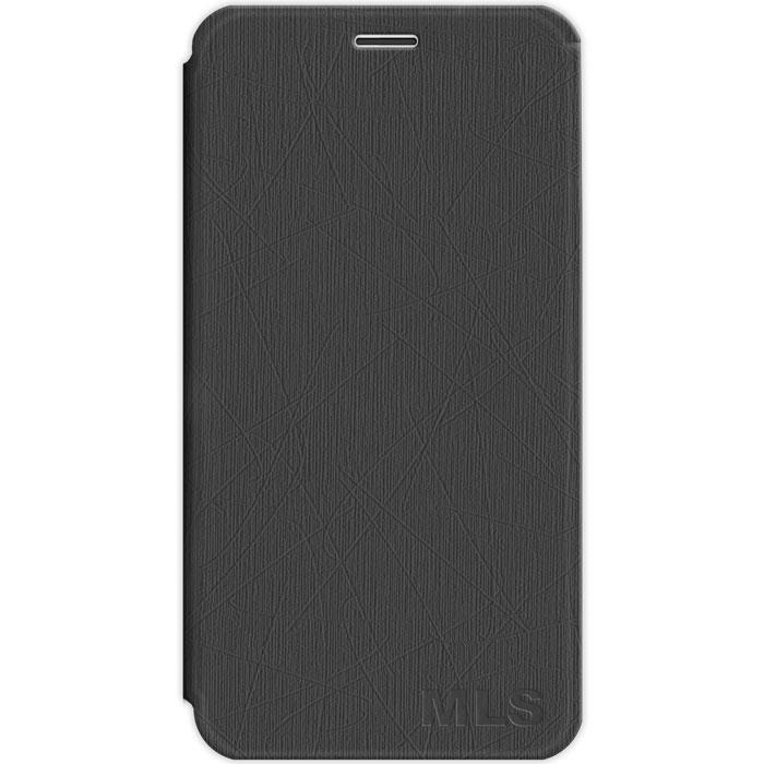 Smart Cover Θήκη MLS iQtalk Spicy 4G - Black (11.CC.520.107)