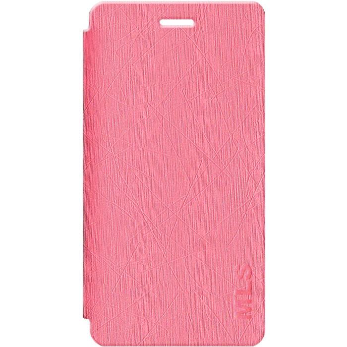 Smart Leather Θήκη MLS Diamond 4G Fingerprint - Pink (11.CC.520.136)