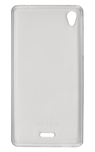 Ultra Thin Θήκη Σιλικόνης MLS iQTalk Twist - Transparent White (11.CC.520.075)