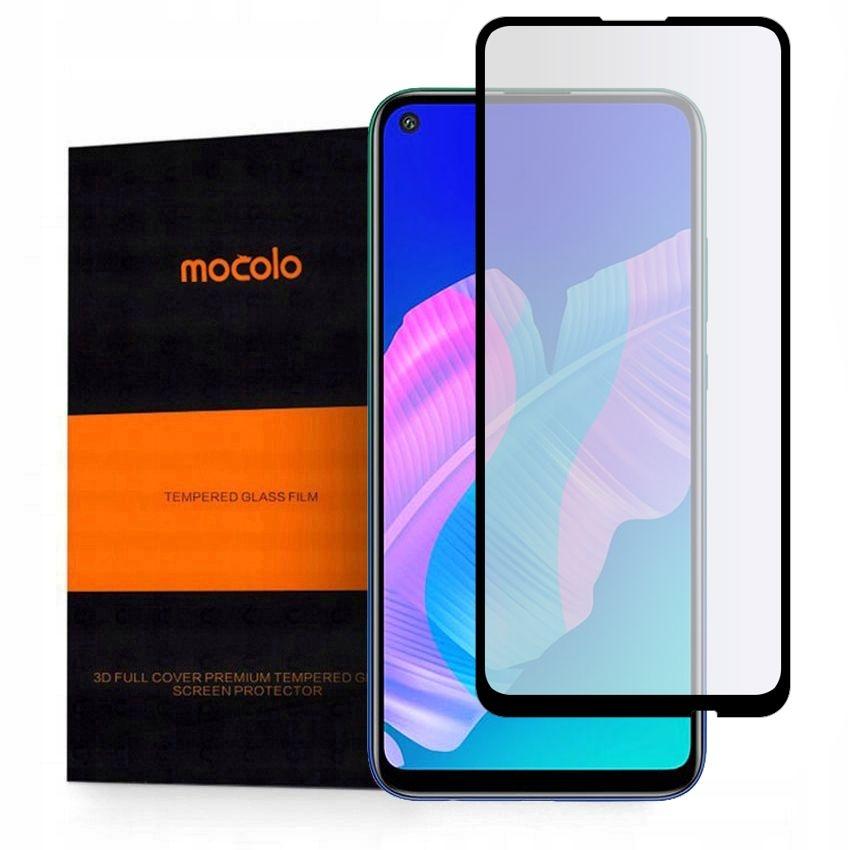 Mocolo TG+ Full Glue Tempered Glass - Fullface Αντιχαρακτικό Γυαλί Huawei P40 Lite E - Black (HW4680)