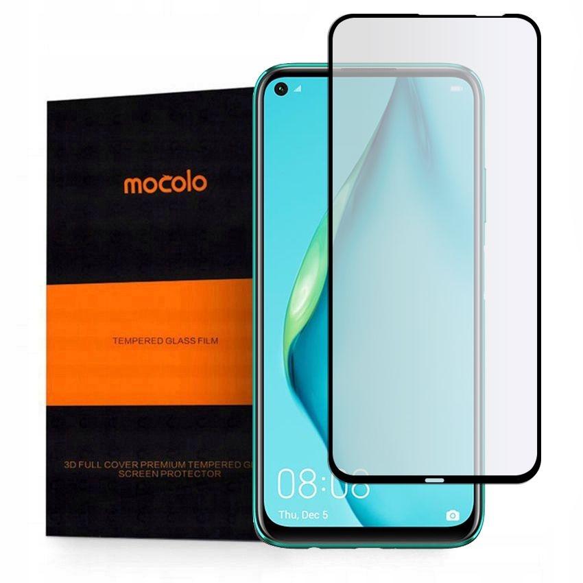 Mocolo TG+ Full Glue Tempered Glass - Fullface Αντιχαρακτικό Γυαλί Huawei P40 Lite - Black (HW4679)