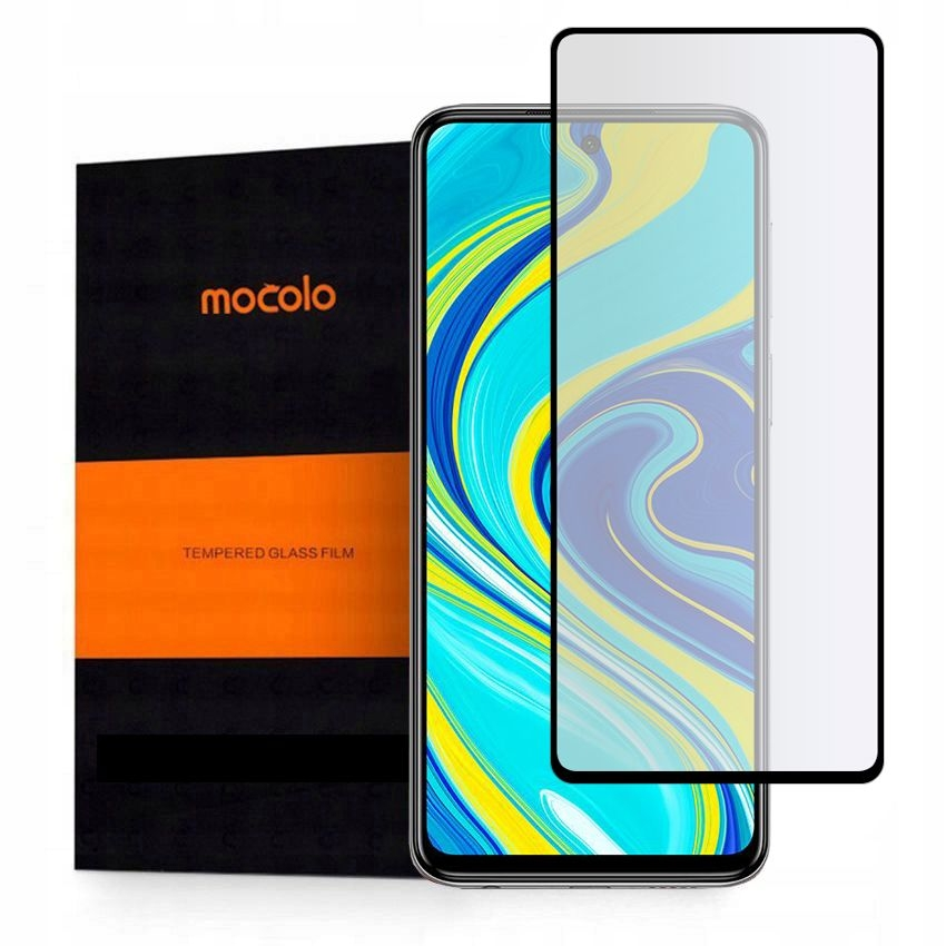 Mocolo TG+ Full Glue Tempered Glass - Fullface Αντιχαρακτικό Γυαλί Xiaomi Redmi Note 9S / 9 Pro / 9 Pro Max - Black (HM4696)
