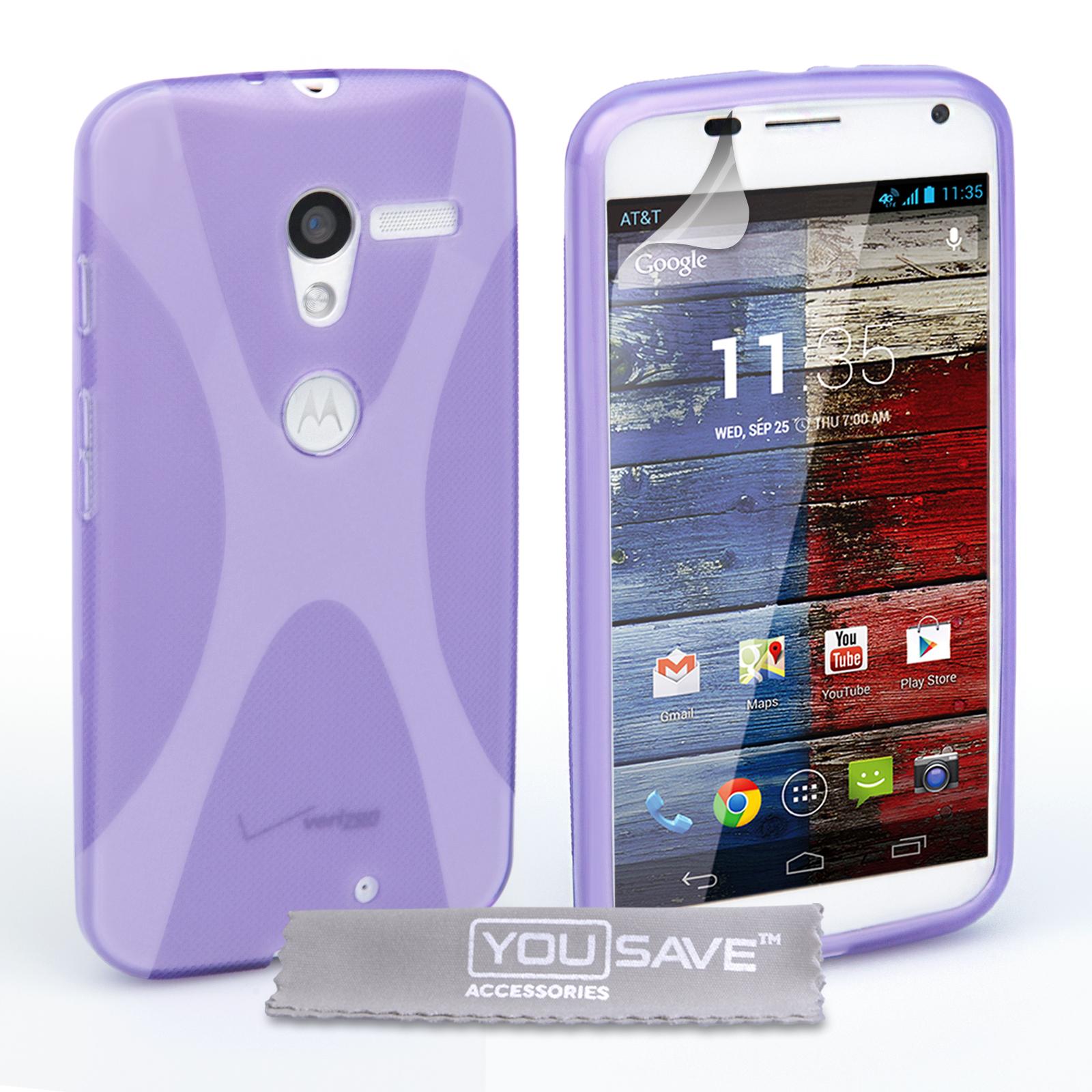 Ημιδιάφανη Θήκη Motorola Moto X by YouSave (Z159)