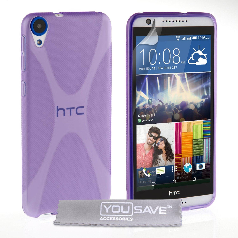 Ημιδιάφανη Θήκη HTC Desire 820 by YouSave (Z556) θήκες κινητών