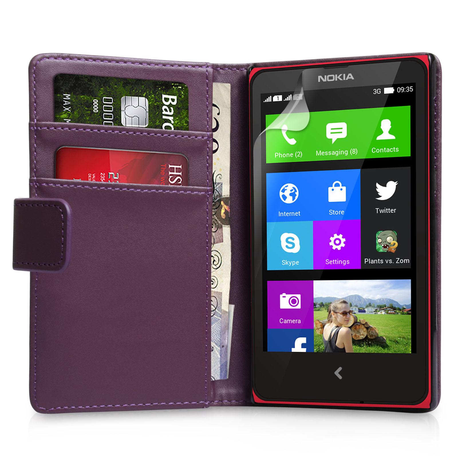 Θήκη Nokia X - Πορτοφόλι by YouSave (Z351)