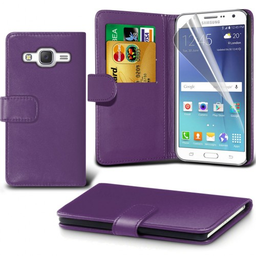 Θήκη Samsung Galaxy J7 (2015) - Πορτοφόλι (001-002-752) - OEM