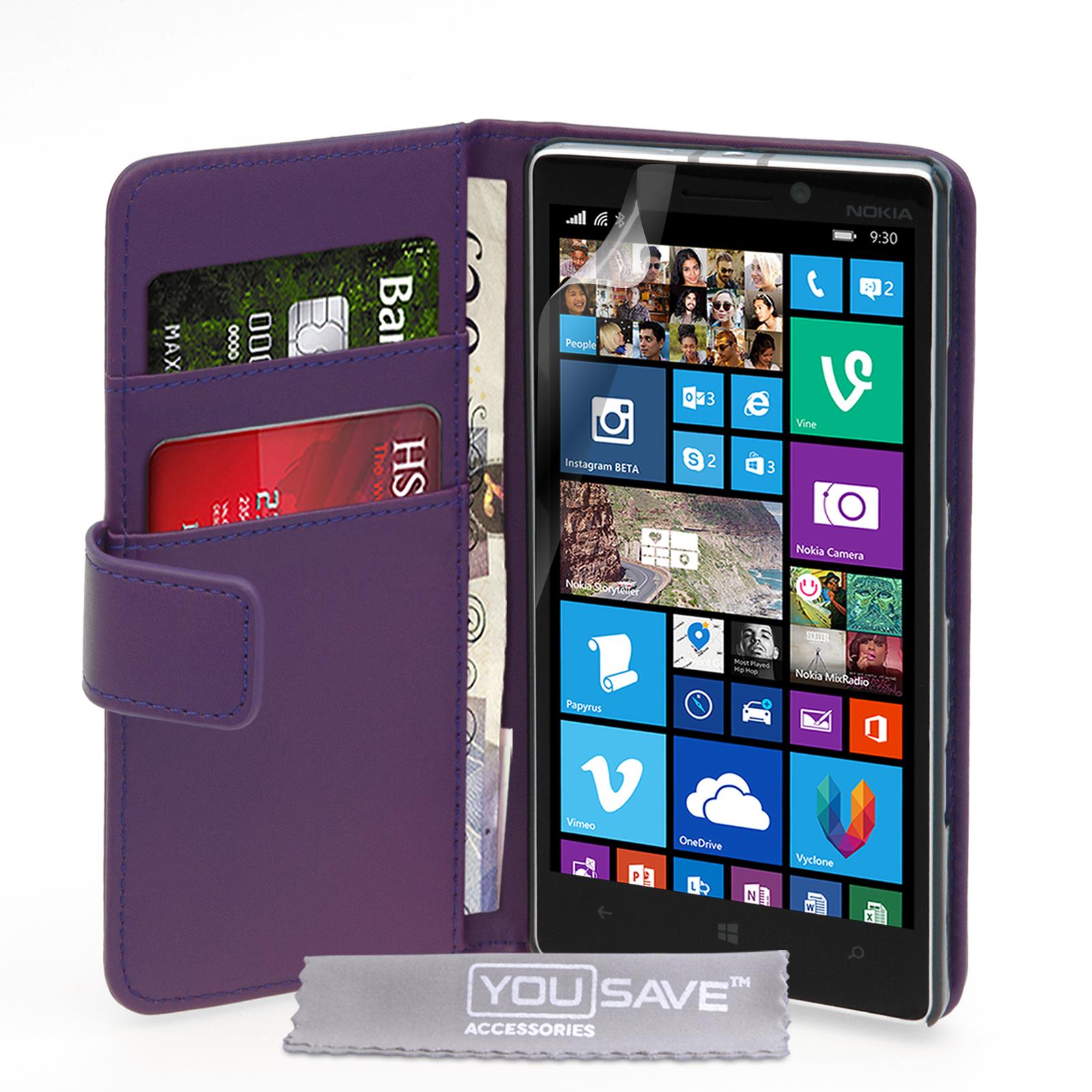 Θήκη Nokia Lumia 930 - Πορτοφόλι by YouSave (Z634)