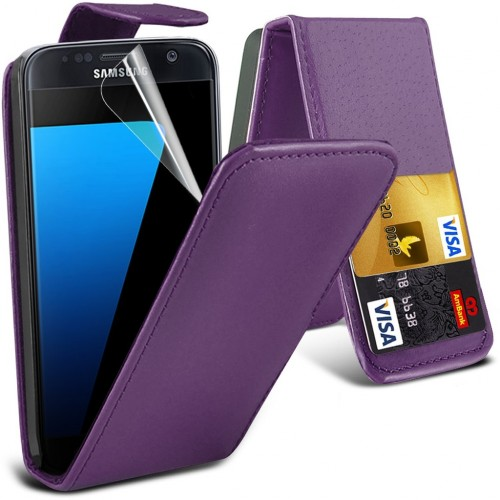 Flip Θήκη Samsung Galaxy S7 (001-002-071) - OEM