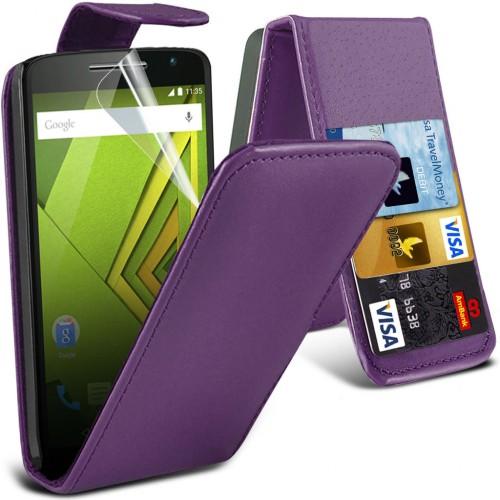 Flip Θήκη Motorola Moto X Play ( 001-003-105) - OEM