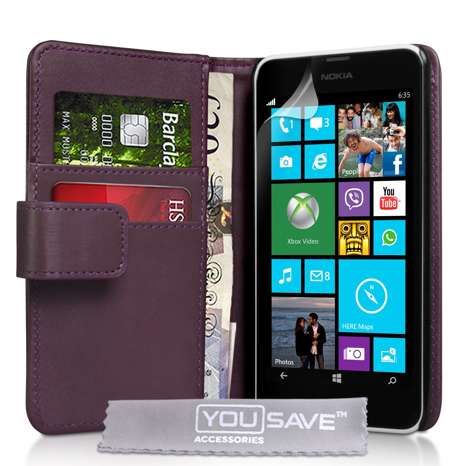 Θήκη Nokia Lumia 630/635 - Πορτοφόλι by YouSave (Z537)