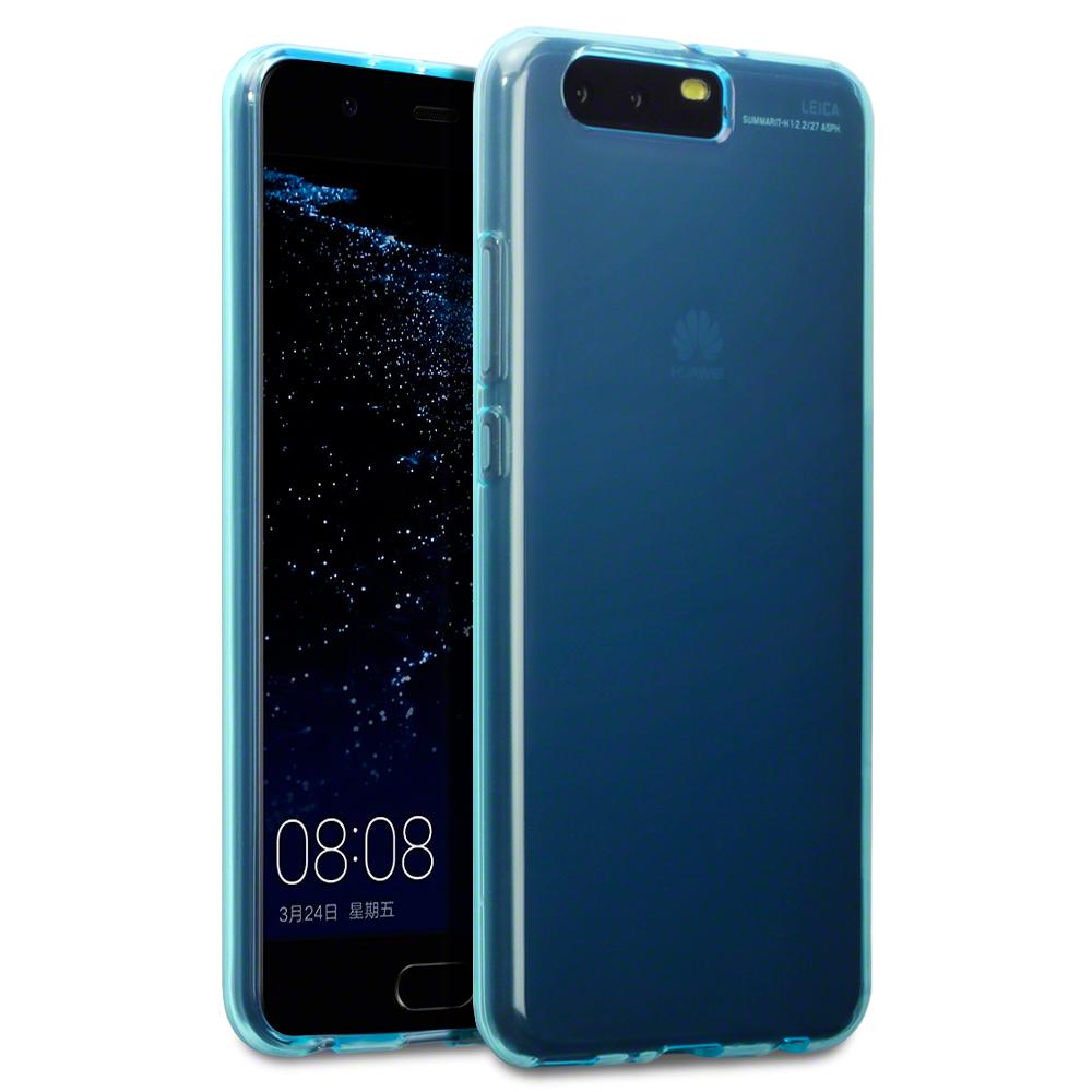 Terrapin Θήκη Σιλικόνης Huawei P10 Plus - Blue (118-083-114)