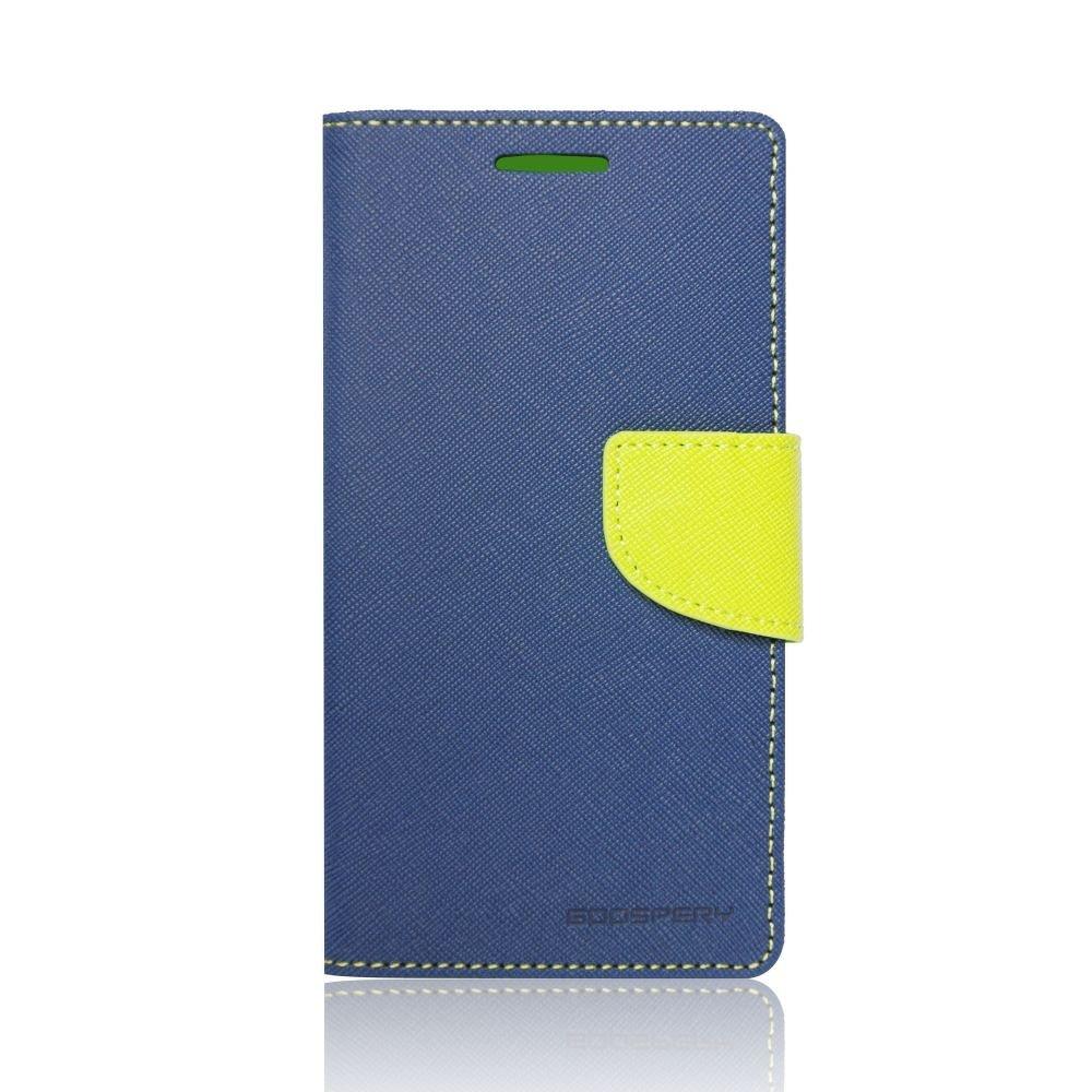 Θήκη Samsung Galaxy S6 Edge Plus - Πορτοφόλι Μπλε by Mercury (001-002-062)