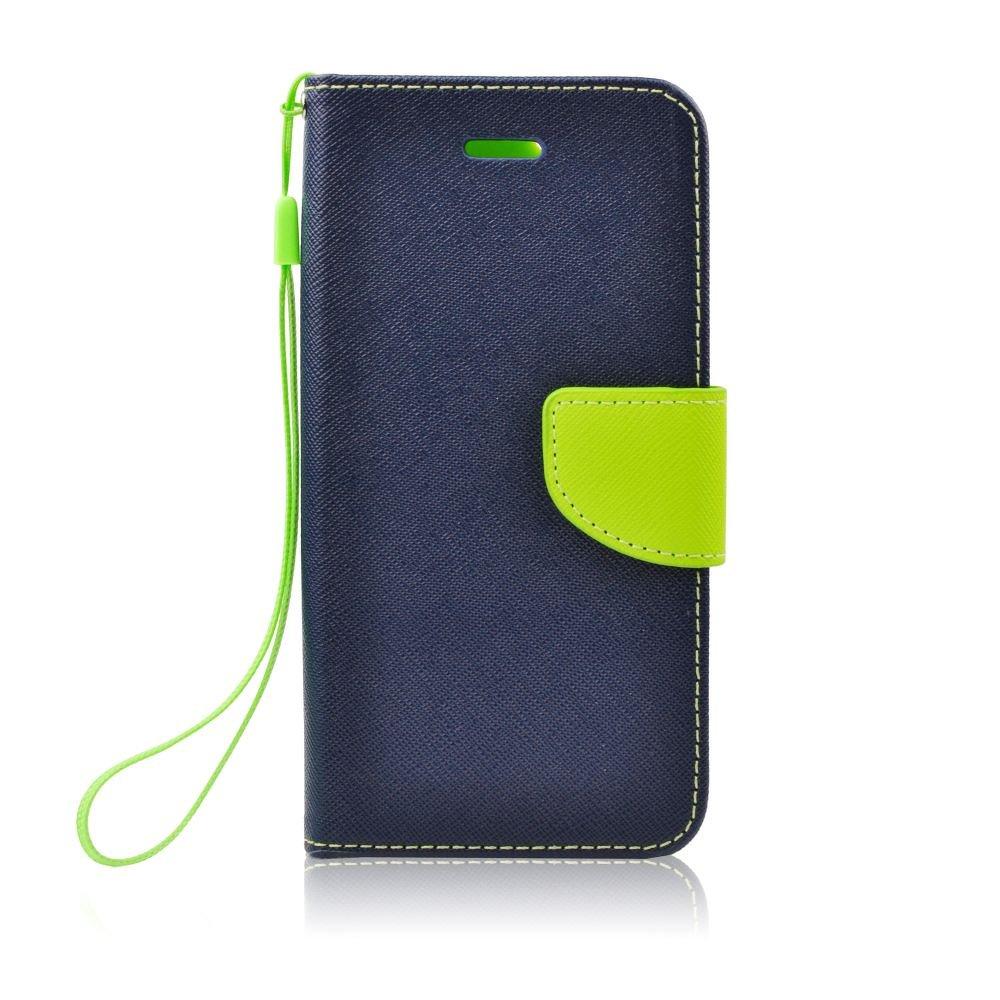"""Θήκη Fancy Diary Alcatel Pixi 3 (4.5"""") - Πορτοφόλι - Μπλέ/Πράσινο (9428) - OEM θήκες κινητών"""
