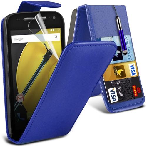 Flip Θήκη Motorola Moto E 2nd Gen (001-003-301) - OEM