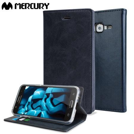 Mercury Θήκη Samsung Galaxy J5 (2015) - Πορτοφόλι Μπλε (56490)
