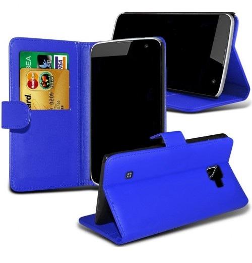 Θήκη LG K4 - Πορτοφόλι (8598) Μπλε - OEM