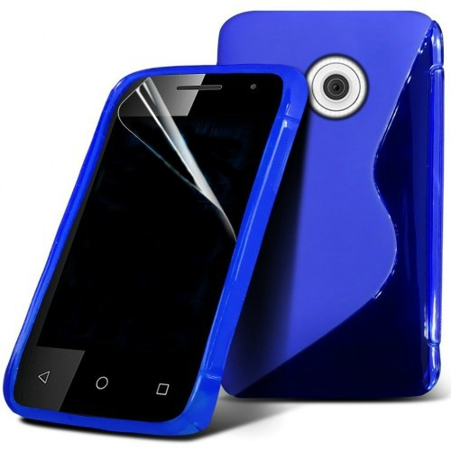 Ημιδιάφανη Θήκη Vodafone Smart First 7 (8222) Μπλε - OEM θήκες κινητών