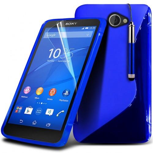 Θήκη Sony Xperia E4g (018-005-443) Μπλε - OEM