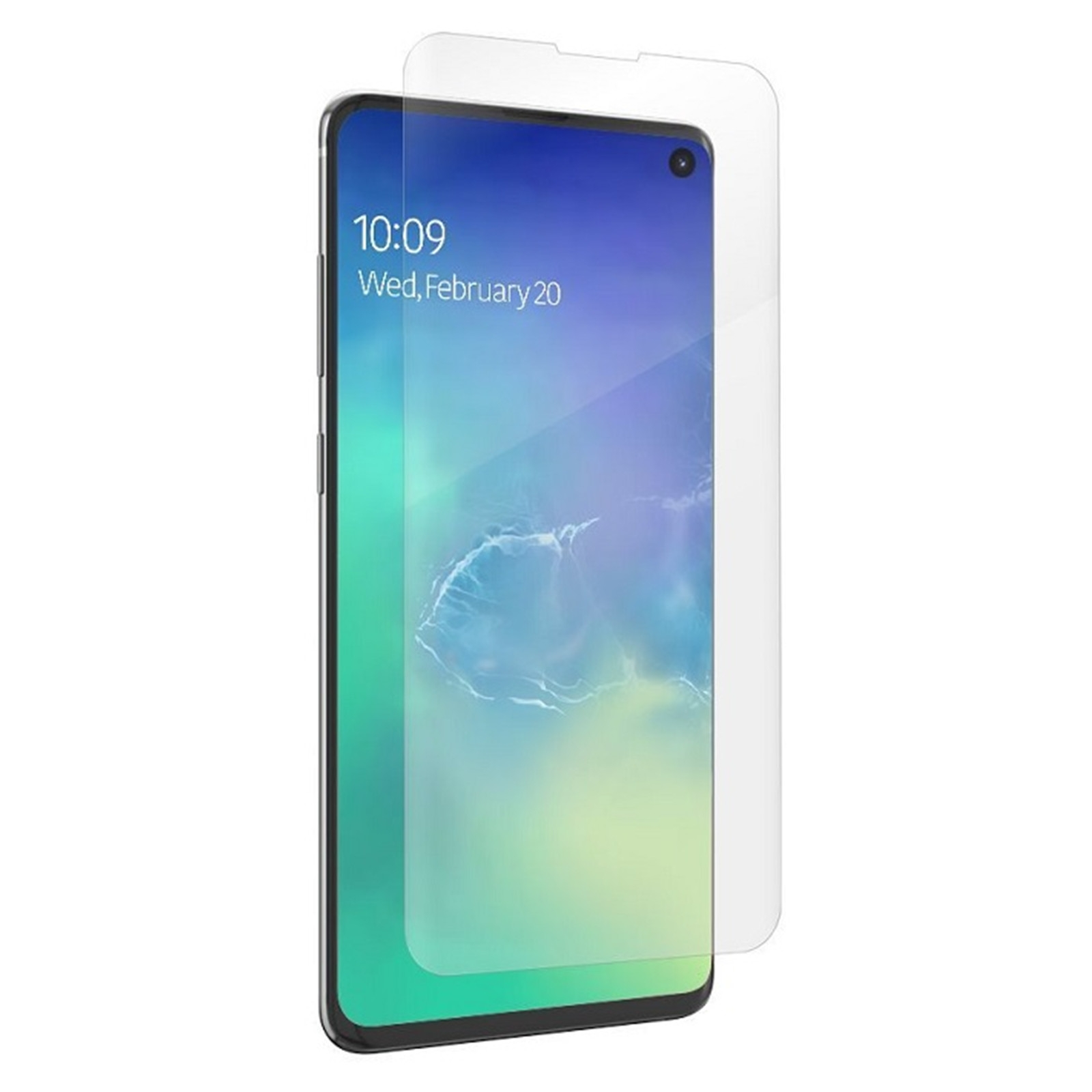 Zagg Invisible Shiled Ultra Clear Screen Protector - Fullface Μεμβράνη Προστασίας Οθόνης Samsung Galaxy S10  - Transparent (200202663)