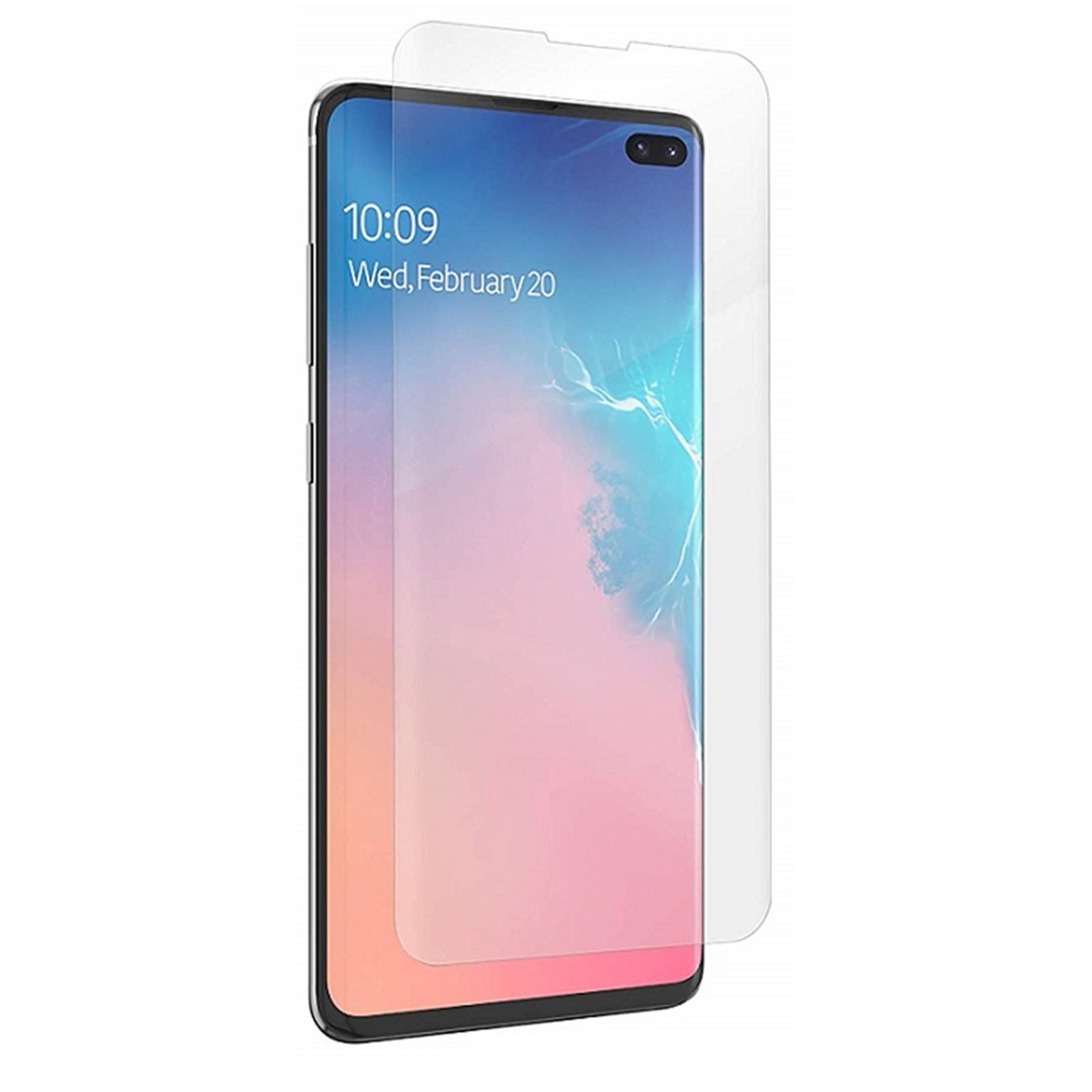 Zagg Invisible Shiled Ultra Clear Screen Protector - Fullface Μεμβράνη Προστασίας Οθόνης Samsung Galaxy S10 Plus - Transparent (200202664)