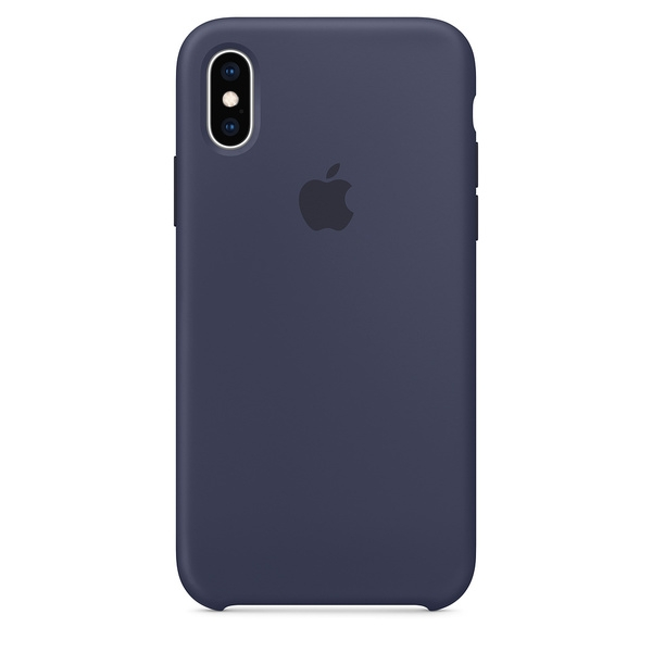 Apple Official Silicon Cover - Θήκη Σιλικόνης iPhone XS - Midnight Blue (MRW92ZM/A)