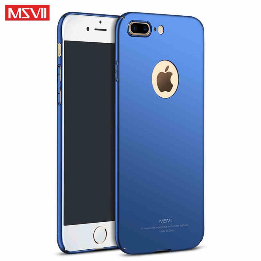 MSVII Super Slim Σκληρή Θήκη PC iPhone 7 Plus - Blue (P3-04)