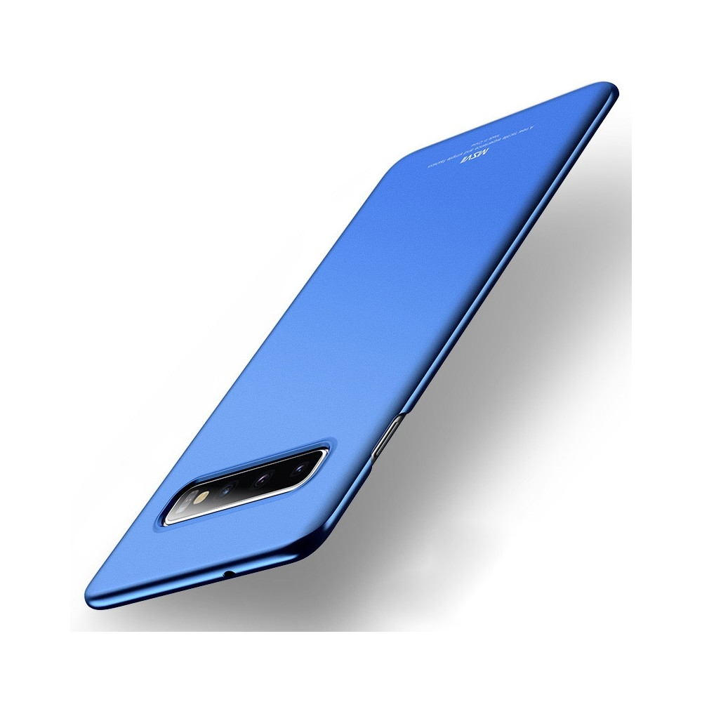 MSVII Super Slim Σκληρή Θήκη PC Samsung Galaxy S10 - Blue (A01-02)