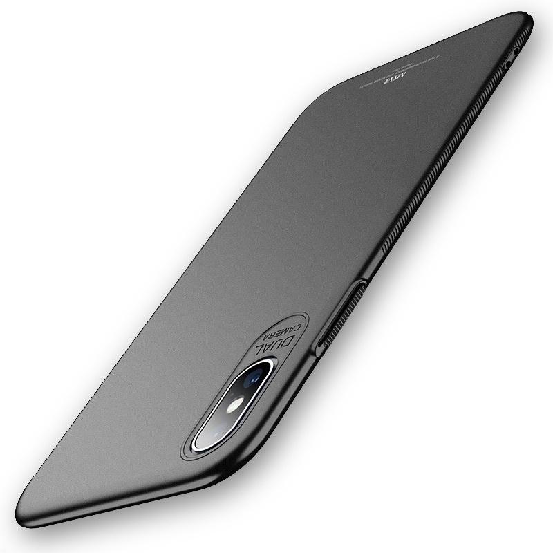 MSVII Super Slim Σκληρή Θήκη PC iPhone X / XS - Black (F1-03)