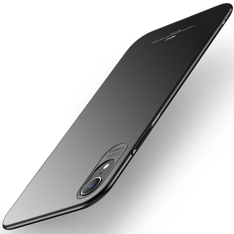 MSVII Super Slim Σκληρή Θήκη PC iPhone XR - Black (CF4-03)