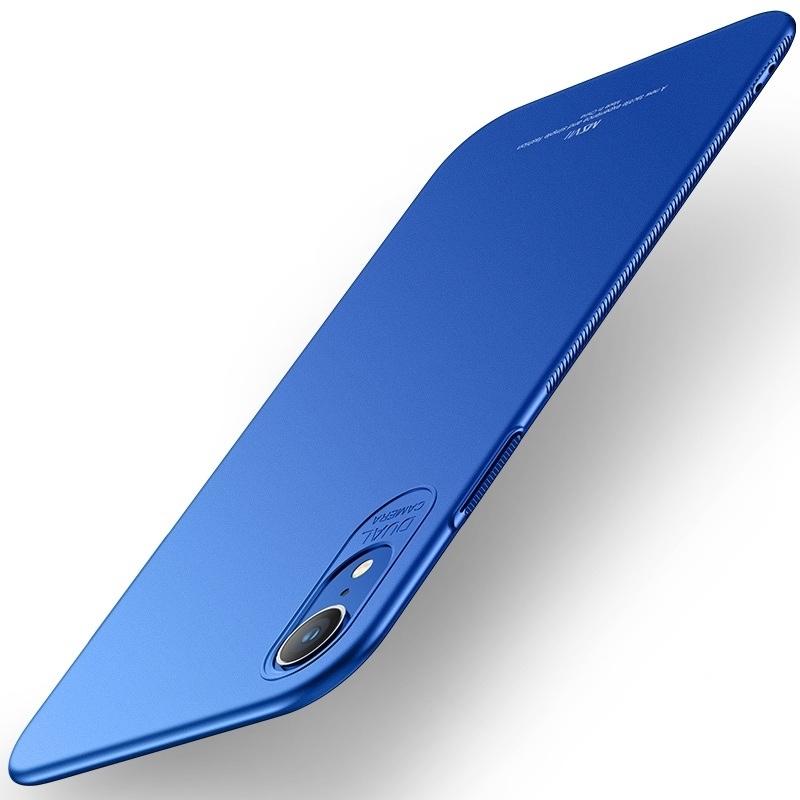 MSVII Super Slim Σκληρή Θήκη PC iPhone XR - Blue (CF4-02)