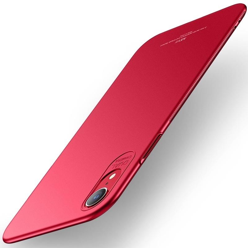 MSVII Super Slim Σκληρή Θήκη PC iPhone XR - Red (CF4-01)