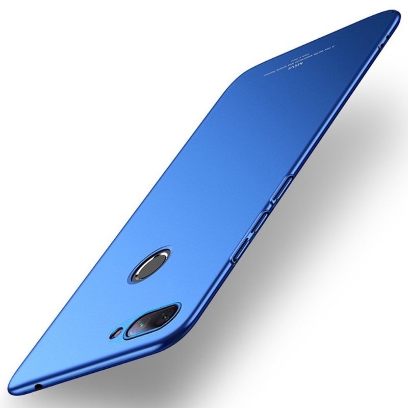 MSVII Super Slim Σκληρή Θήκη PC Xiaomi Mi 8 Lite - Blue (AD3-02)