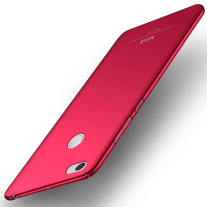 MSVII Super Slim Σκληρή Θήκη PC Xiaomi Mi Max 2 - Red (Y3-03)