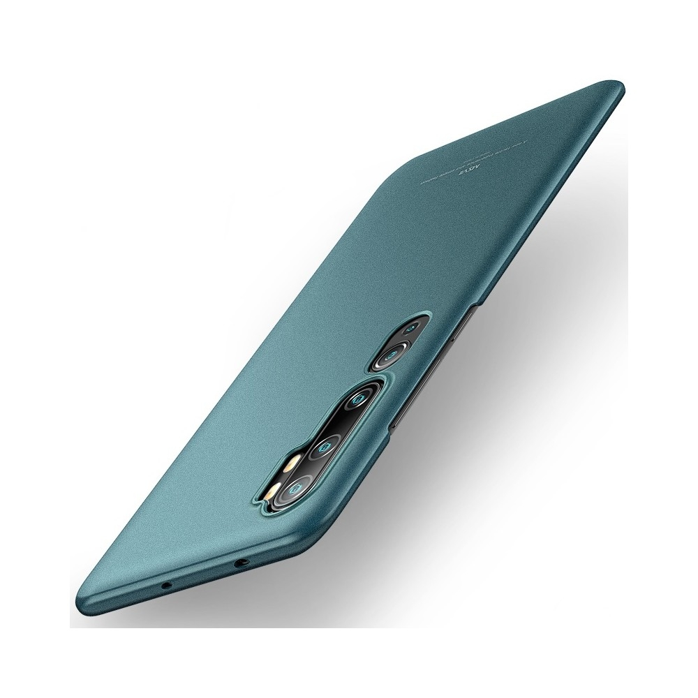 MSVII Super Slim Σκληρή Θήκη PC Xiaomi Mi Note 10 - Green Matte (AB1-04)