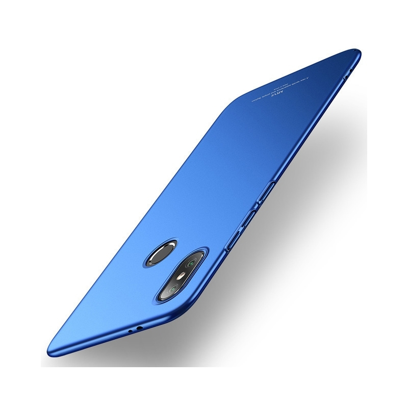 MSVII Super Slim Σκληρή Θήκη PC Xiaomi Mi 8 - Blue (D1-04)