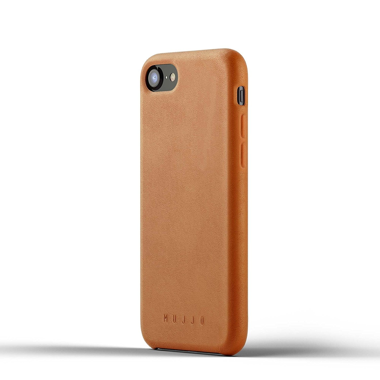 MUJJO Full Leather Case - Δερμάτινη Θήκη iPhone 7 / 8 - Tan (mujjo-cs-093-tn)