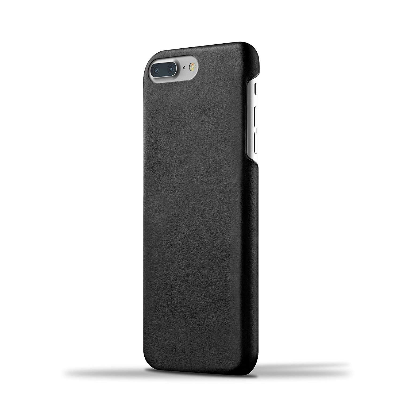 MUJJO Full Grain Leather Case - Δερμάτινη Θήκη iPhone 8 Plus / 7 Plus - Black (mujjo-cs-074-bk)